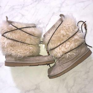 UGG Alpaca Fur Boots